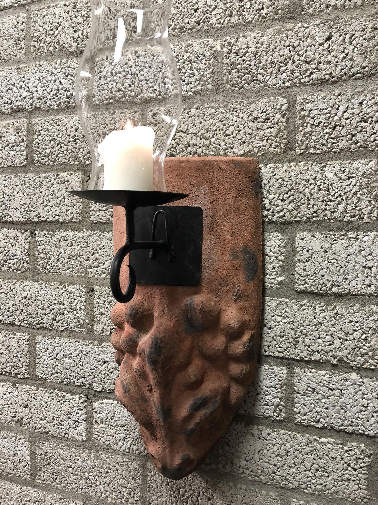Antieke Glazen Kandelaars.Tags Decoratie Antiek Landhuis Landhuis Gastentoilet Badkamer Voordeur Keuken Mediterrane Mediterrane Stijl Lamp Lantaarn Wandlampen