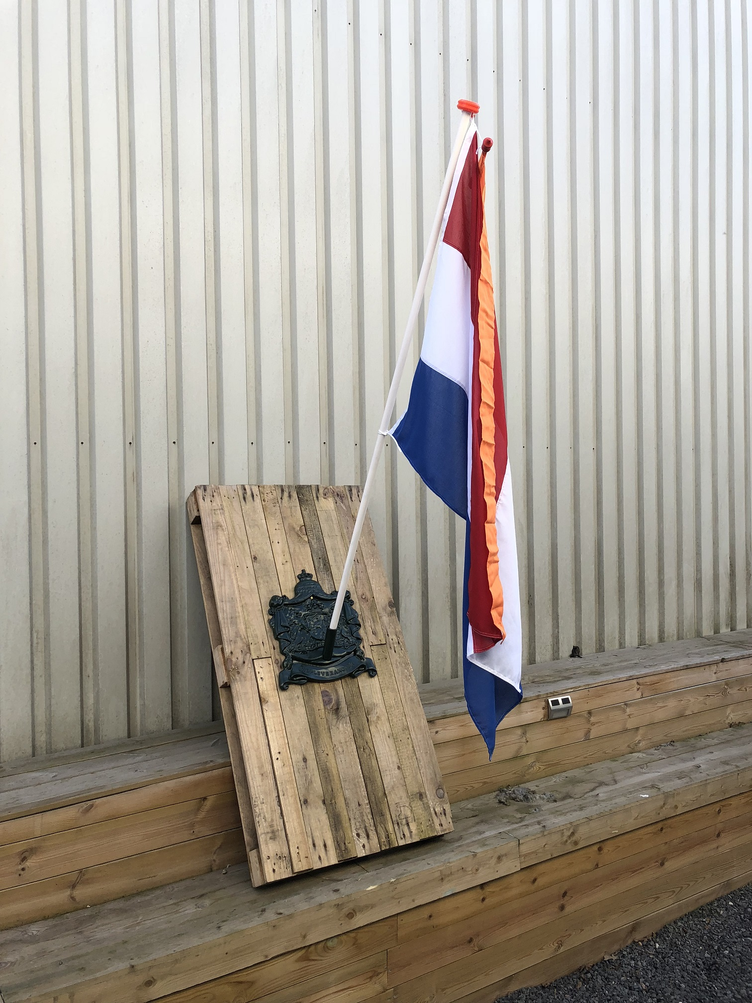 Extreem Tags: decoratie, antieke,, beugel voor vlaggen, houders vlag LQ01