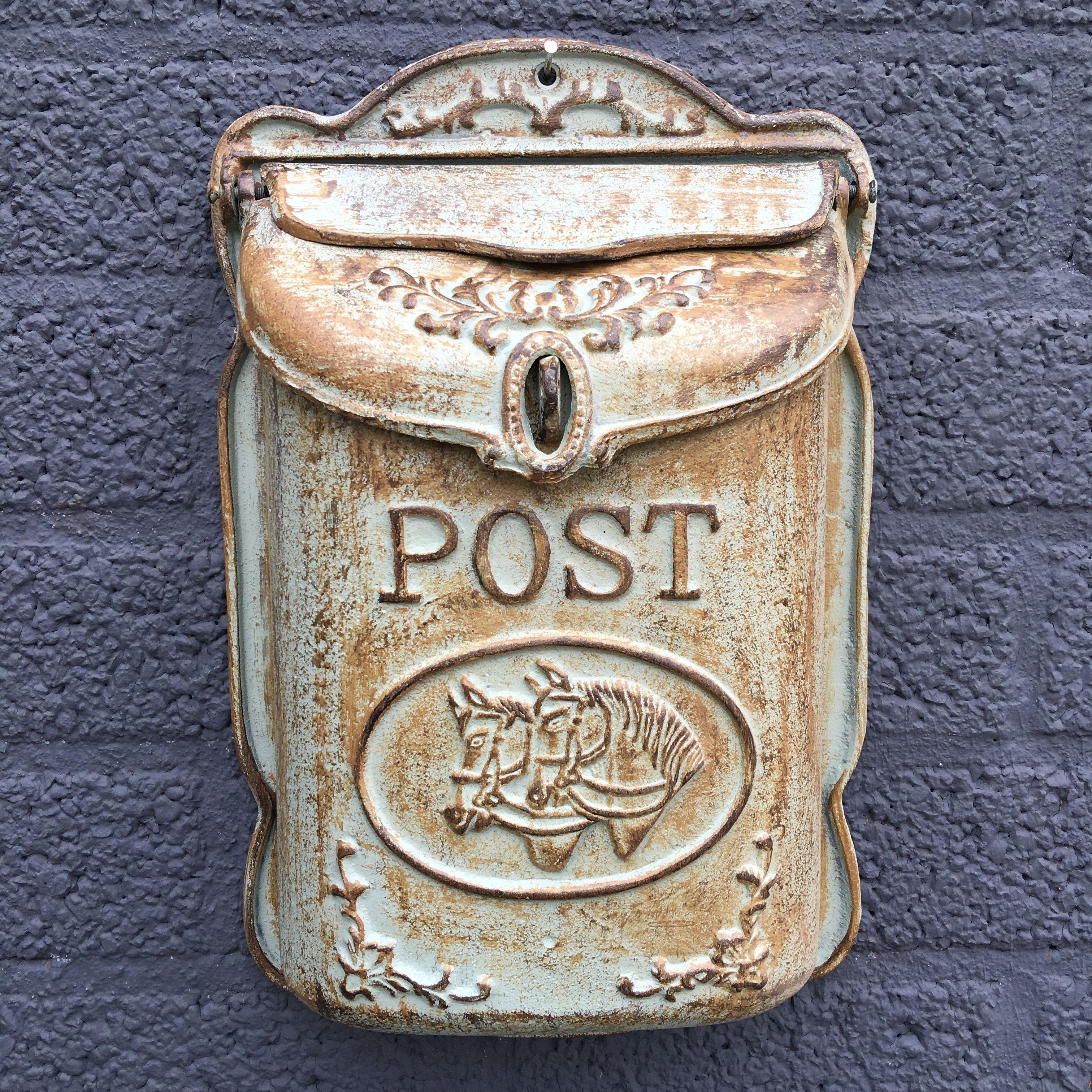 Bijzondere post mail bus voor aan de muur handgemaakt eu - Decoratie gevel exterieur huis ...