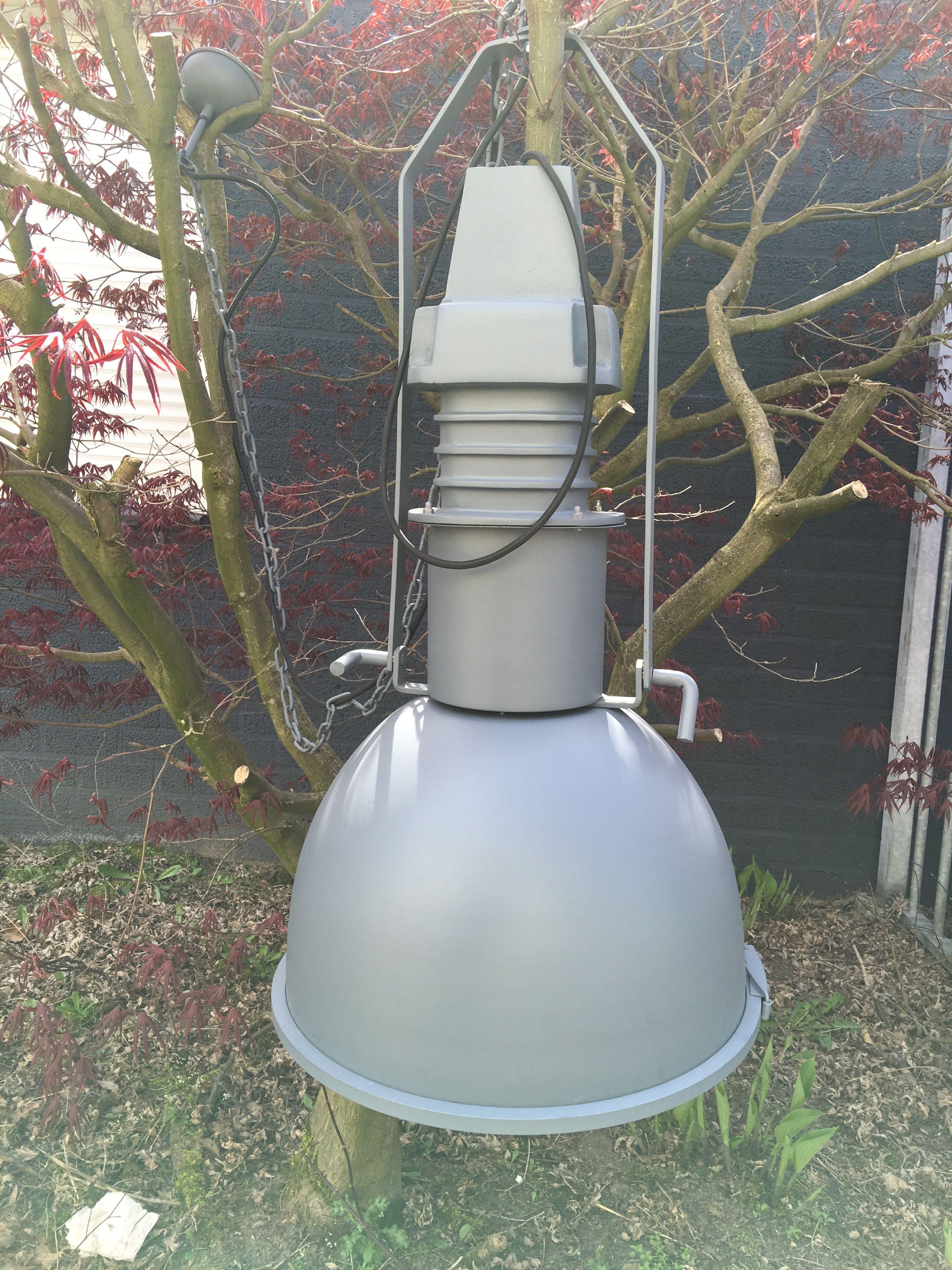 Fraaie grote metalen industrie hanglamp handgemaakt eu - Decoratie gevel exterieur huis ...