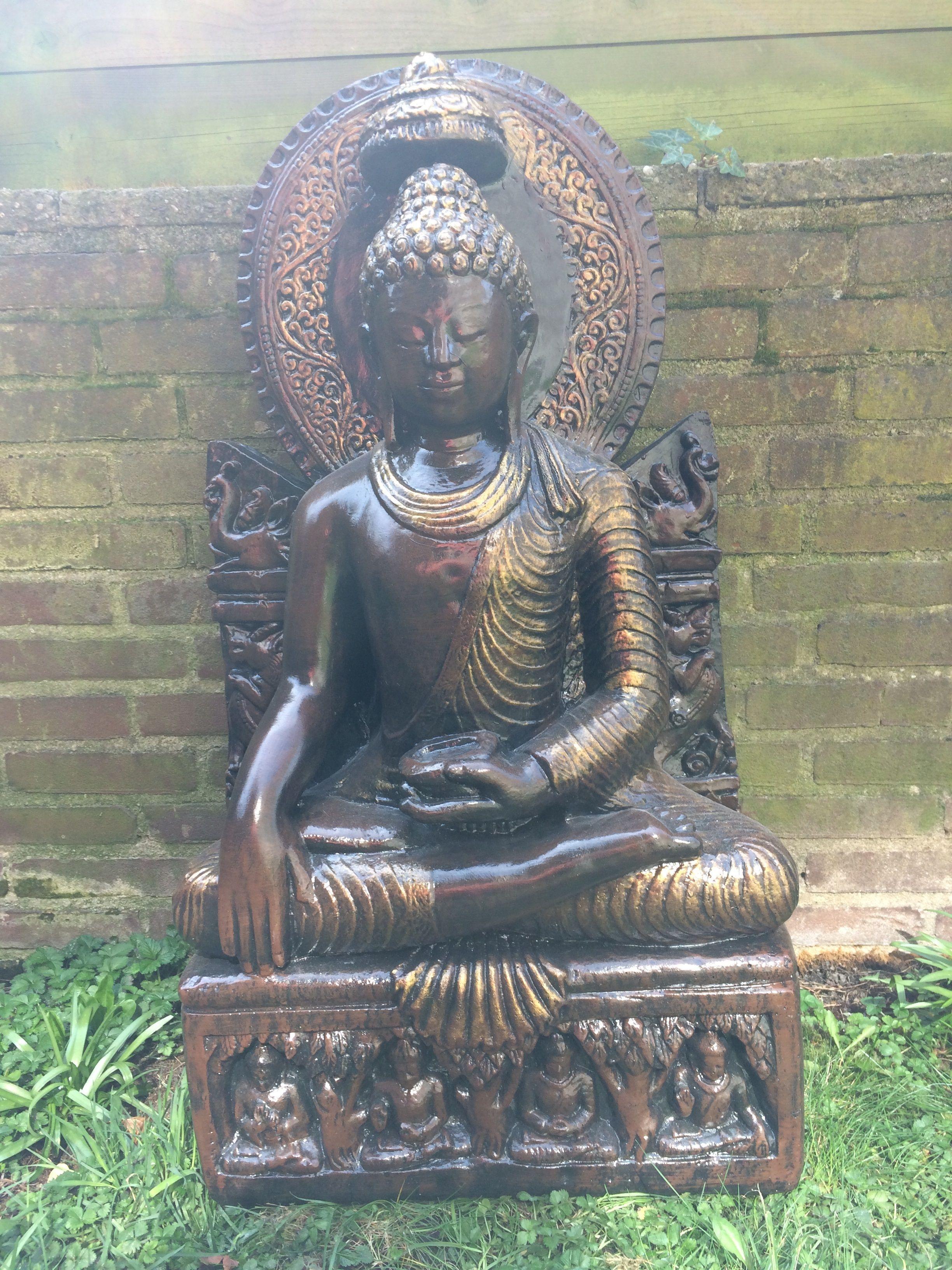 Boeddha Beelden Voor De Tuin.Boeddha Thaise Boeddha Beelden Thais Stenen Beelden Tuinbeelden