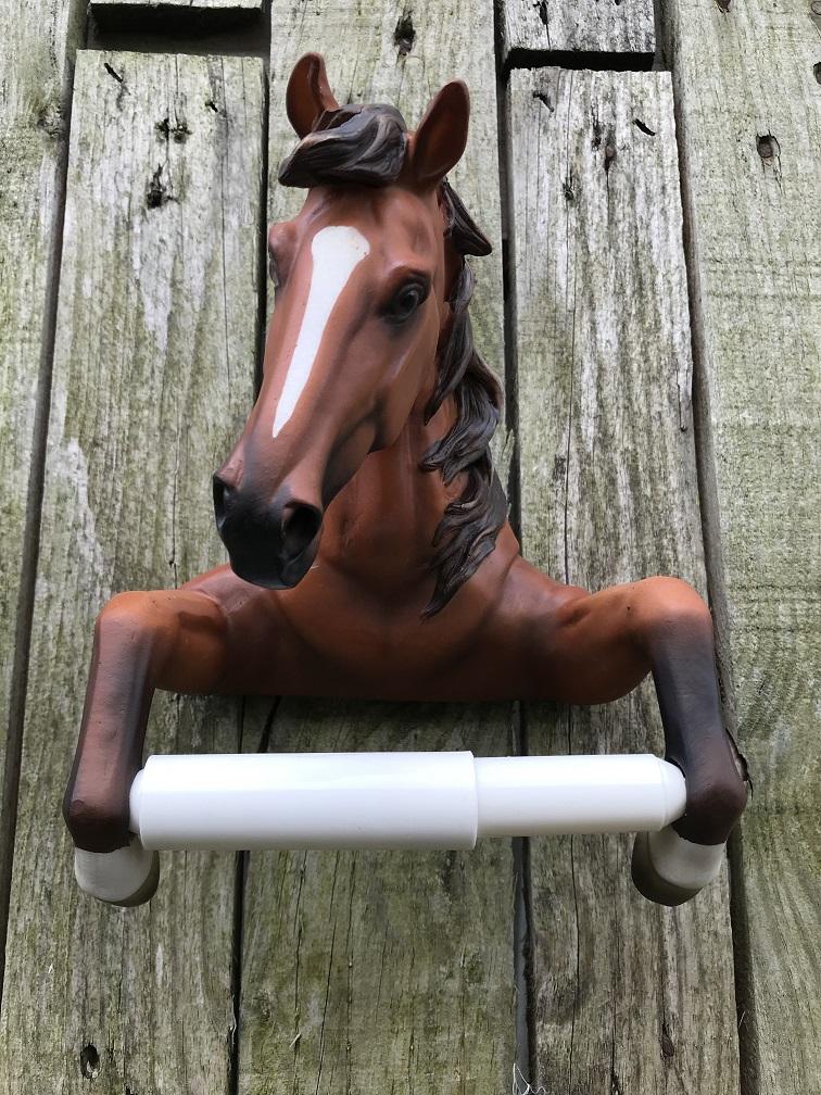 Een Toiletrolhouder In De Vorm Van Een Paard Leuke Decoratie Handgemaakt Eu