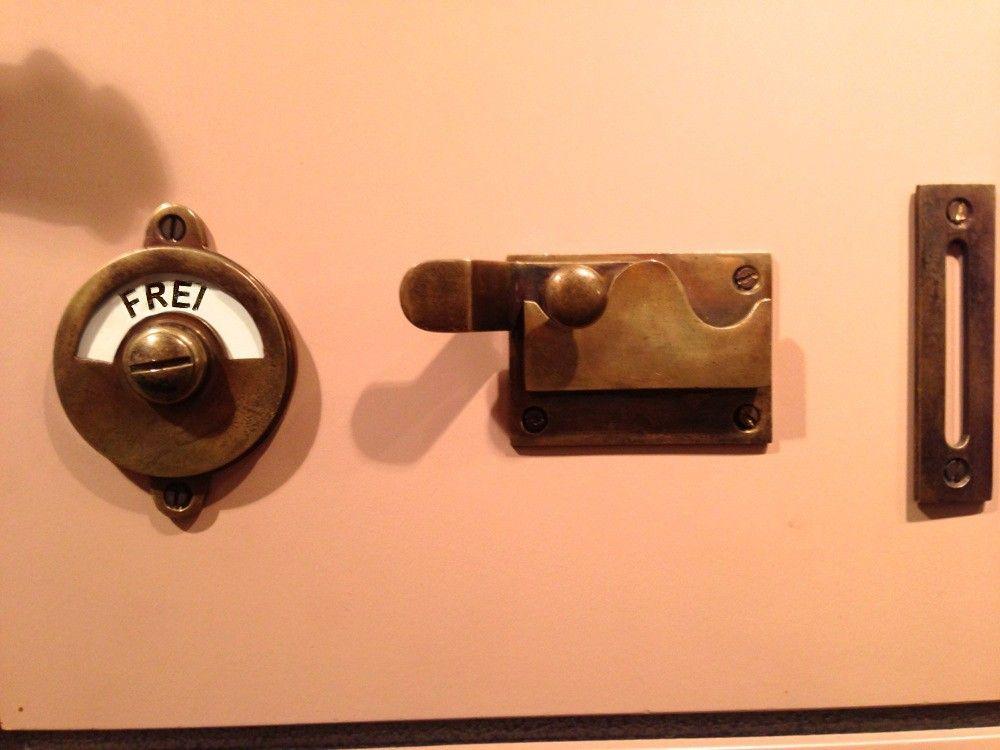 Tags wc slot set wc toilet deurbeslag fittingen messing wc