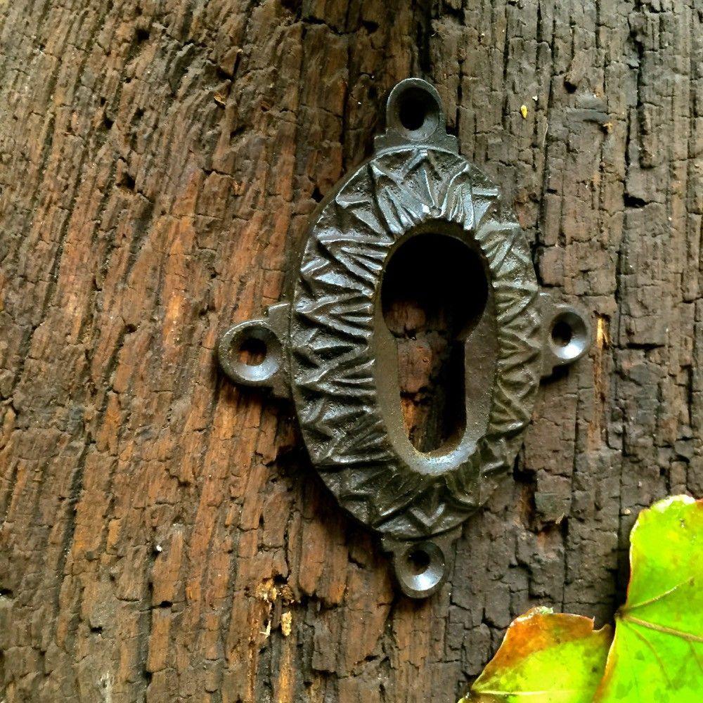 Türknauf für antike Tür Schlosslochrosette PZ gründerzeitlicher Knauf