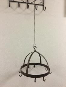 haak lamp ophangen