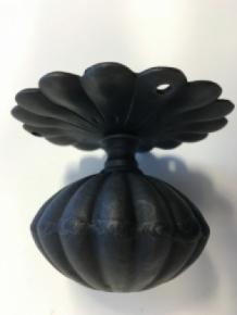 Hoge kwaliteit deurknop met rozet deurknop ijzer antieke deur handgemaakt eu - Massieve exterieur decoratie ...