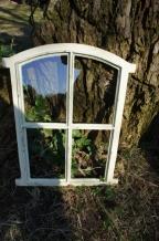 Tags spiegelraam decoratie antiek raam met spiegel ijzer tuinhuis koetshuis boerderij - Spiegel sprossenfenster ...