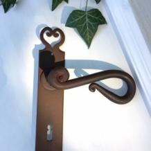 Kamer deurbeslag italiaans design landhais deurbeslag for Klinken voor binnendeuren