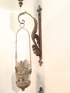 Hanglantaarn met glas in de italiaanse landelijke stijl handgemaakt eu - Deco hangende toilet ...